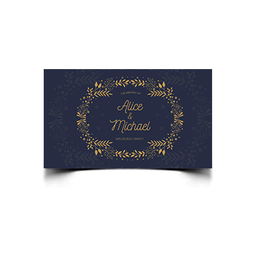 Cartoline ELEGANT 16,5x8,5 cm